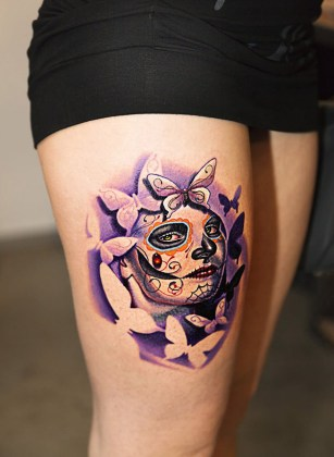 Day of the Dead Tattoos 9