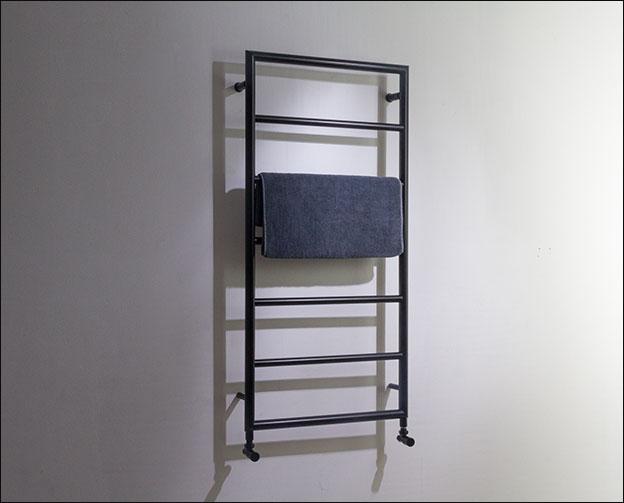 Matt Black Heated Towel Rails  Loft Towel Radiator