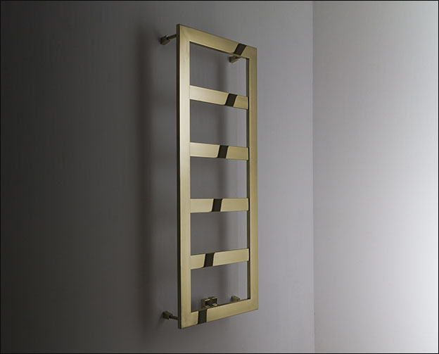 Large Bar Brass Heated Towel Rail Brass Towel Warmers