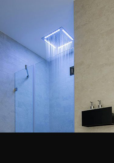 Fixed Shower Heads  Wall  Ceiling Mounted  Livinghouse