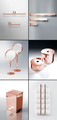 Copper Bathroom Accessories & Fittings