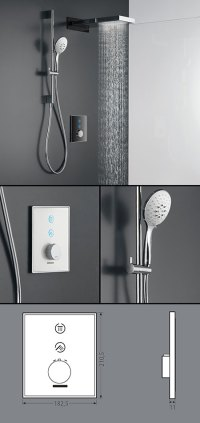 Digital Shower Controls & Electronic Shower Valves - Sensor