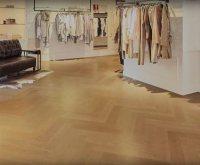 Engineered Herringbone Block Floor & Engineered Wood ...