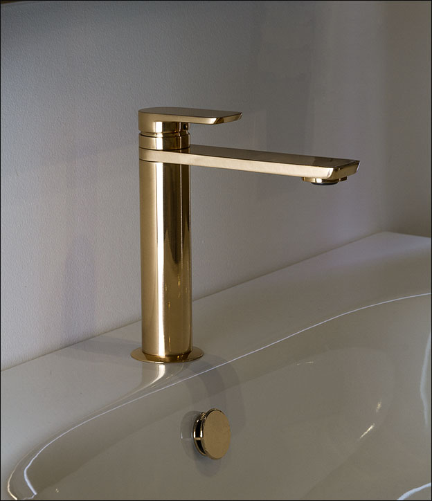 Gold Taps  Gold Basin Mixer Taps  Kara