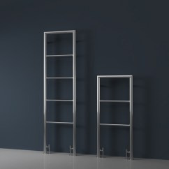 Tiles For Living Room Floor Directions To Theater Boca Raton Chrome Mounted Heated Towel Rail - Milli