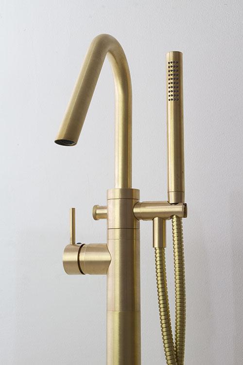 Brass Freestanding Bath Tap  Fillers  Brass Taps