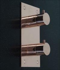 Rose Gold Shower Controls & Shower Valves | Kara Rose Gold