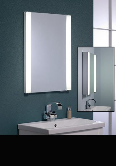 Recessed Bathroom Mirror Cabinets  In Wall Mirror Cabinets
