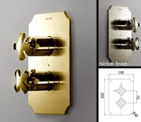 Gold Taps - Thermostatic Gold Shower Valve | Coox