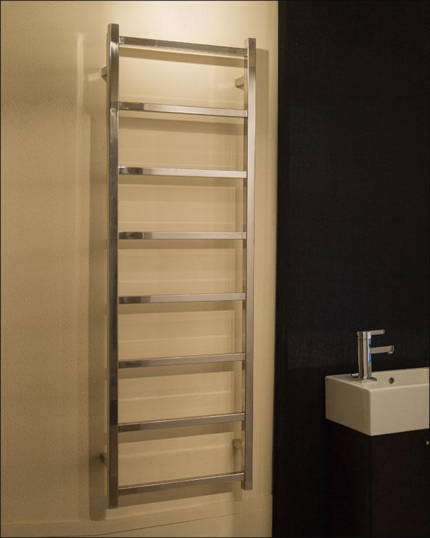 Stainless Steel Towel Rails  Stainless Ladder Towel Radiators