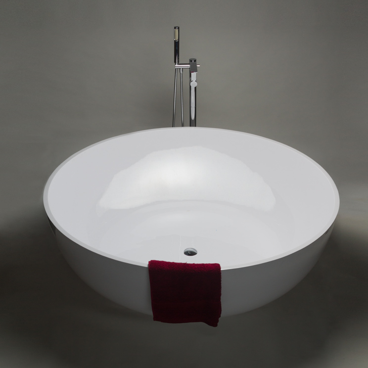 Polo Stone Resin Round Bath  Large Circular Bath