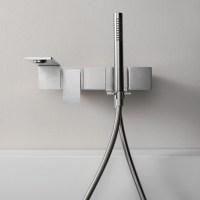 Slimm Modern Bath Filler - Stainless Steel - Livinghouse