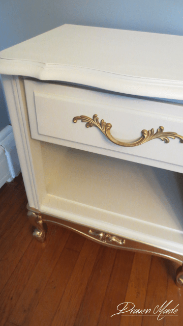 general finishes linen milk paint gold dipped