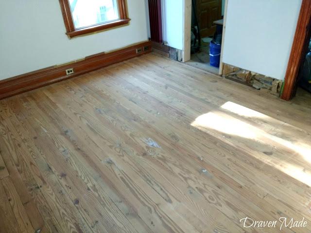 master bedroom renovation floor sanding