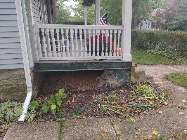 sagging front porch