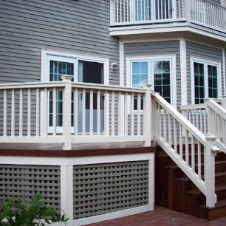 square porch skirting