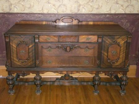 english tudor jacobean buffet table sideboard antique