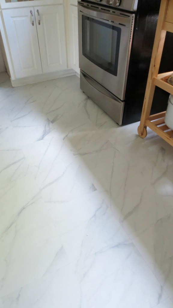 kitchen floor new