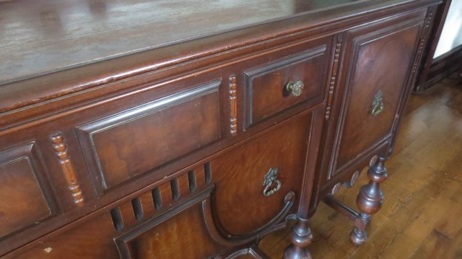 antique buffet sideboard victorian dining room wood