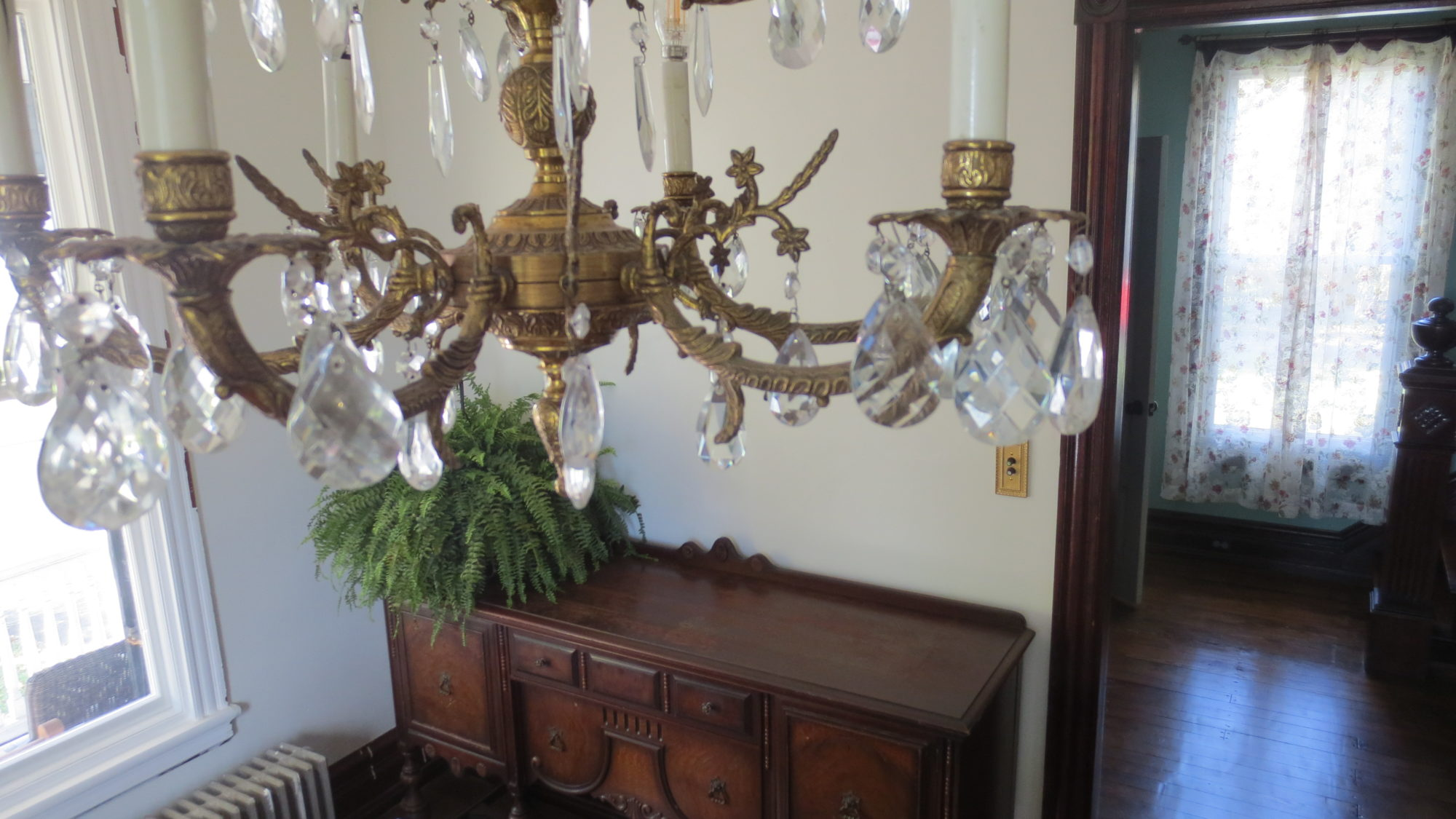 Antique victorian jacobean buffet table english tudor chandelier antique victorian jacobean buffet table english tudor chandelier dining room living in a fixer upper aloadofball Images