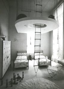 French Kids Room 1937 With Space-saving Solution