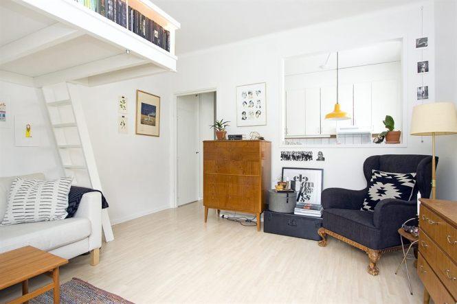 Tiny Swedish Apartment 3