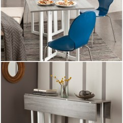 Dining Table In Living Room Pictures Barbie Furniture Diy Twenty Tables That Work Great Small Spaces A Holly Martin Driness Drop Leaf