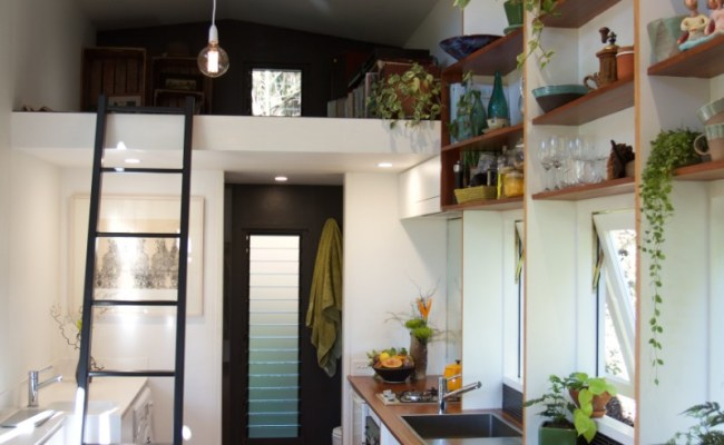 The Tiny House Company Introduces Model With Retractable