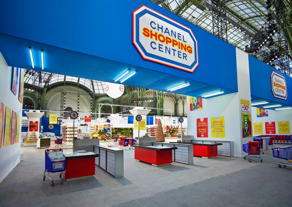 Chanel Fall Winter 2014 Ready to Wear Karl Lagerfeld Supermarket