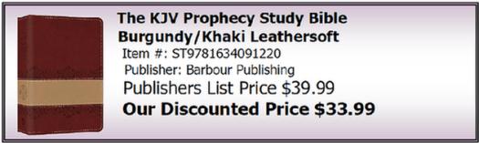 KJV Prophecy Study Bible