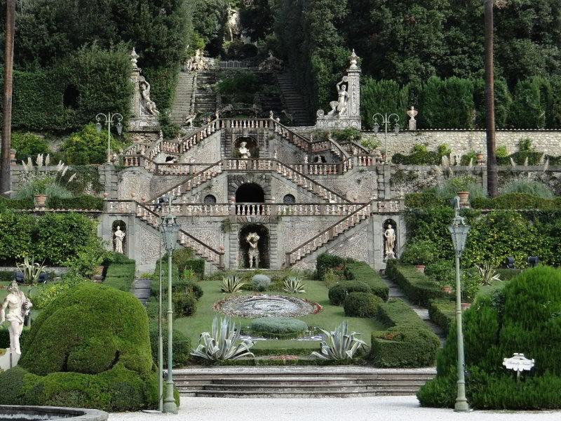 Garden of Villa Garzoni