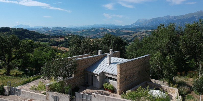 Panoramic views of the Sibillini Mountains National Park