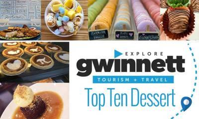 Explore Gwinnett Top Ten Desserts