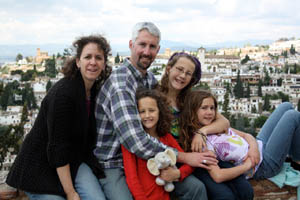 The Galloways are living inside the testimony in Spain