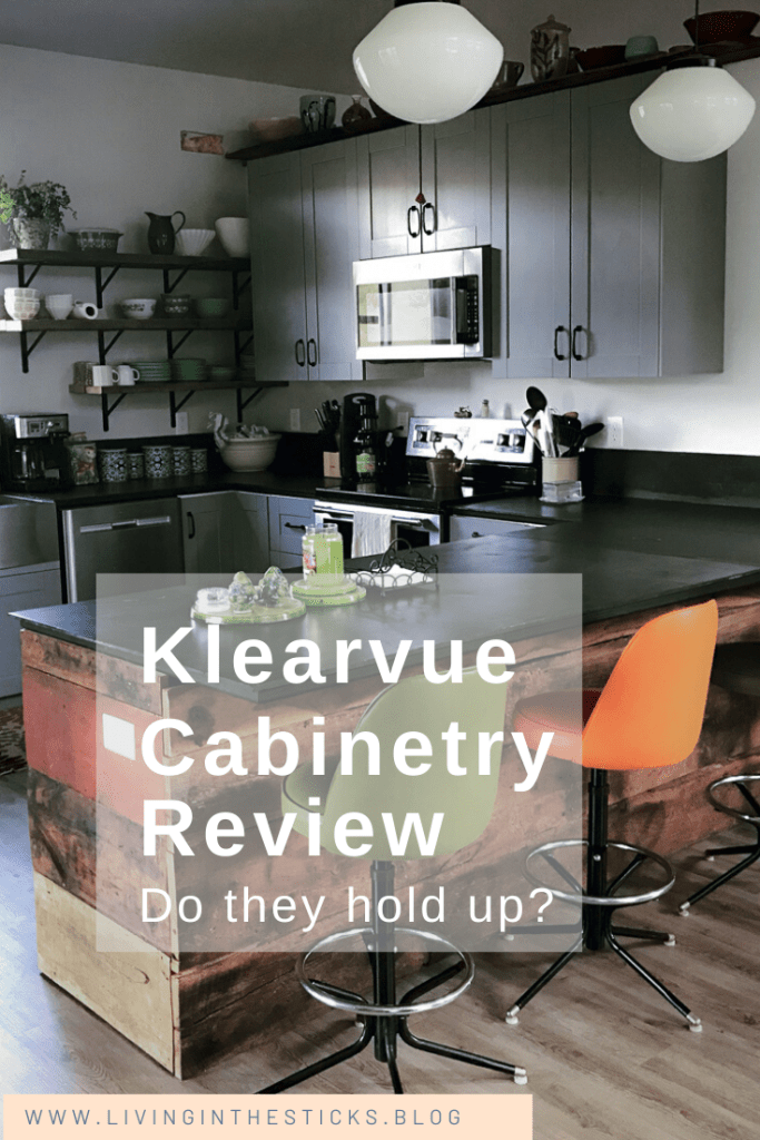 Review Klearvue Cabinetry Living In The Sticks