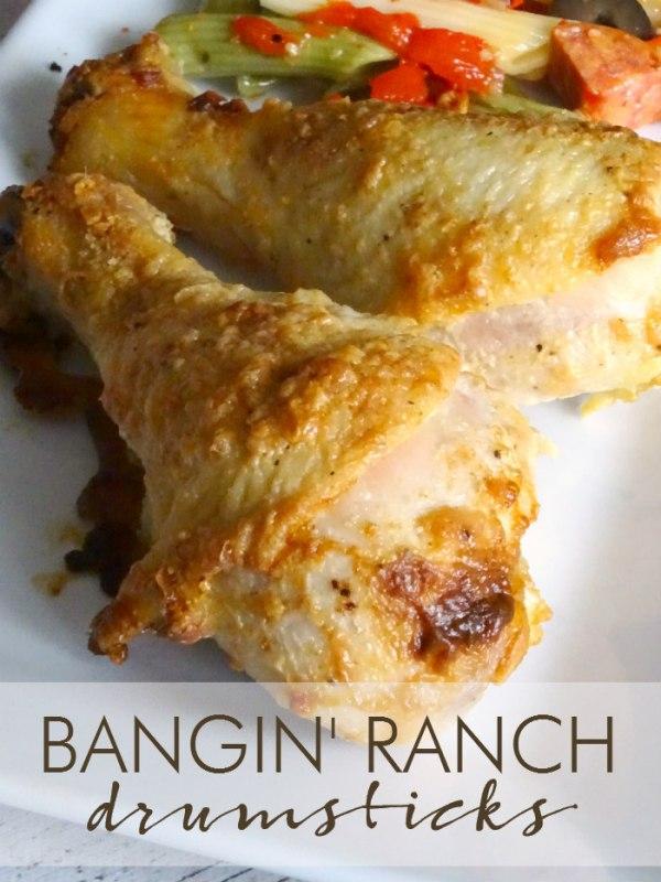 Bangin' Ranch Drumsticks