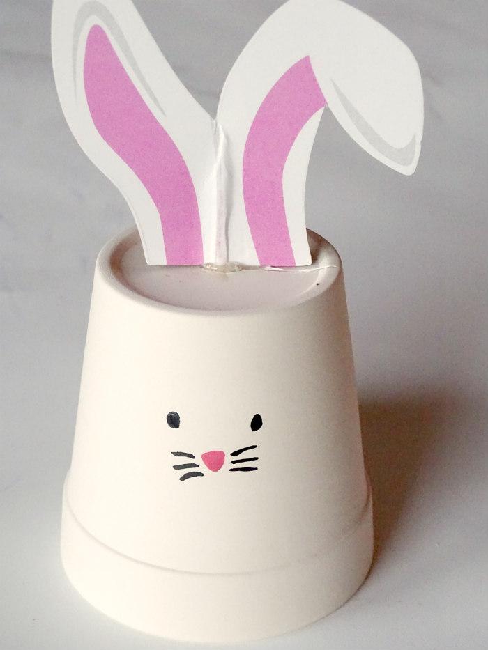 DIY Easter Bunny Pot