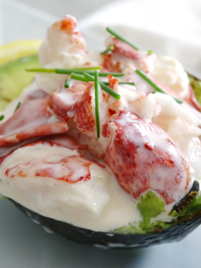 Low Carb Lobster Roll Stuffed Avocado