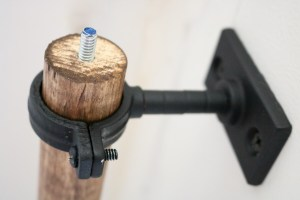 bolt end of wood curtain rods