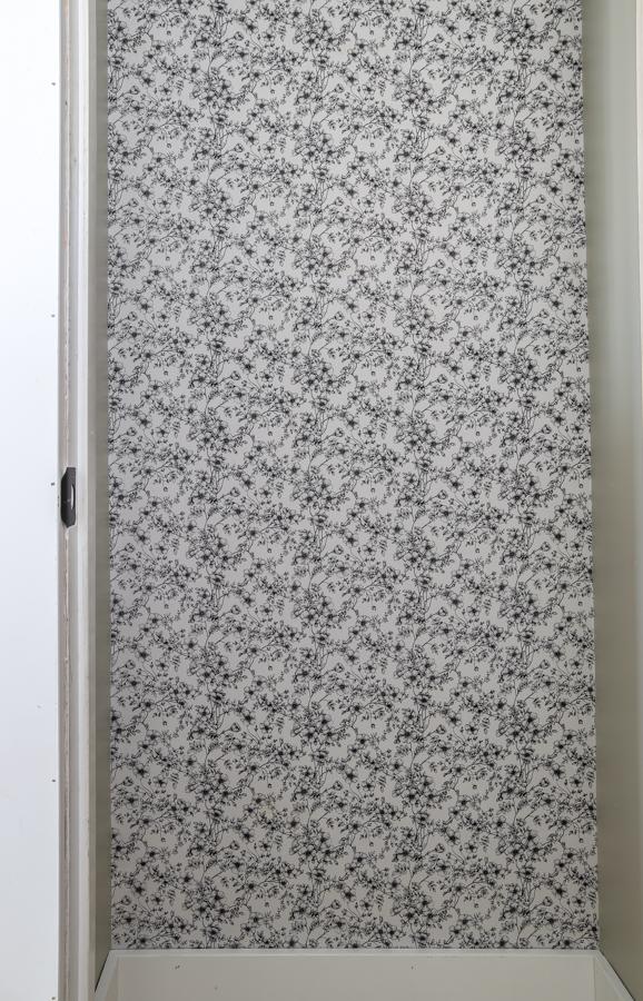 finished wall fabric wallpaper DIY temporary wallpaper