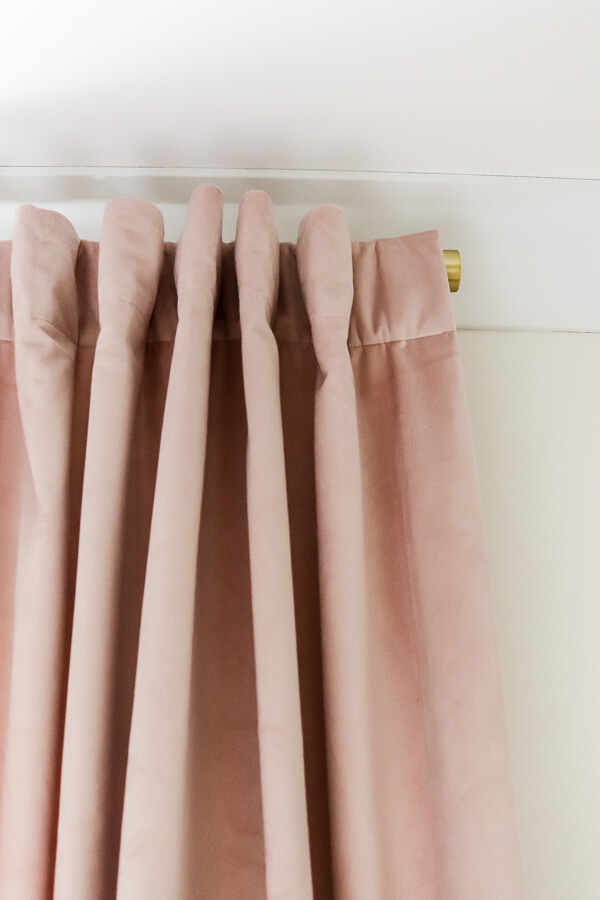 how to hang curtain rods perfectly