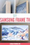 DIY Samsung The Frame TV graphic