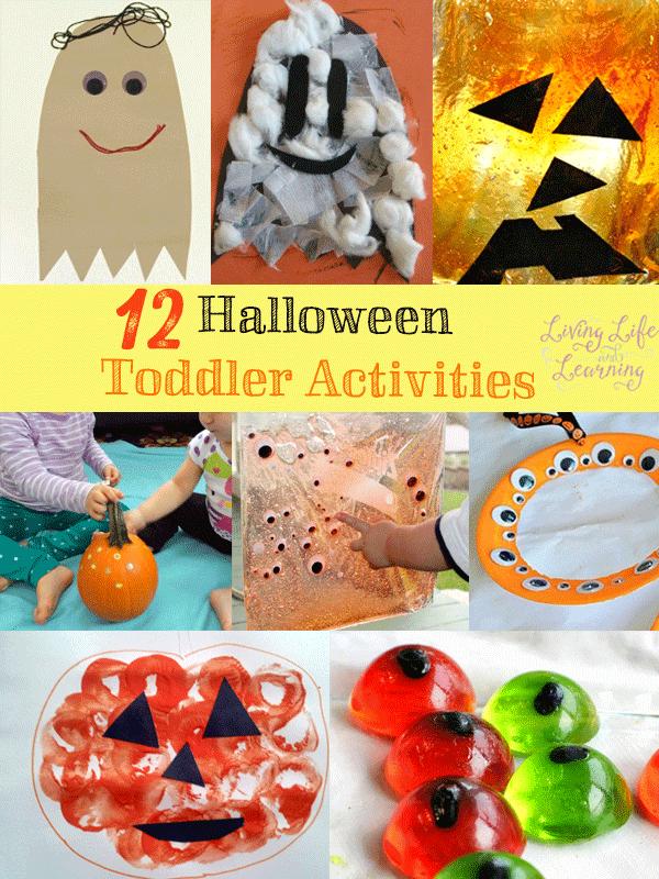 12 Halloween Toddler Activities