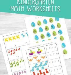 Dinosaur Kindergarten Math Worksheets [ 1135 x 735 Pixel ]