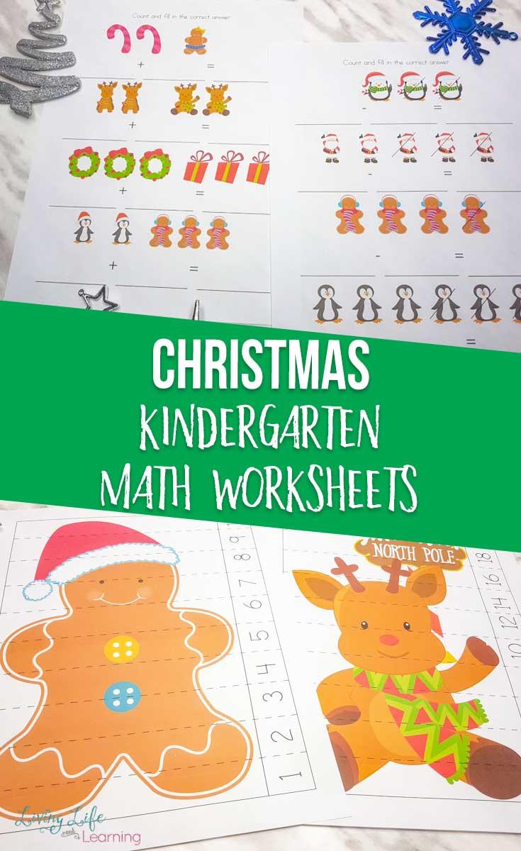 medium resolution of Christmas Kindergarten Math Worksheets