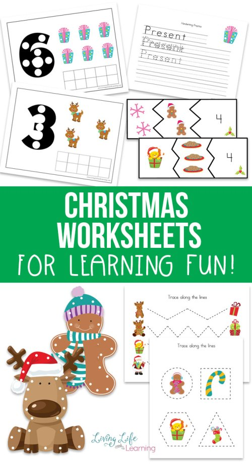 small resolution of Free Christmas Worksheets for Kids