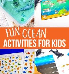 Fun Ocean Activities for Kids [ 1290 x 735 Pixel ]