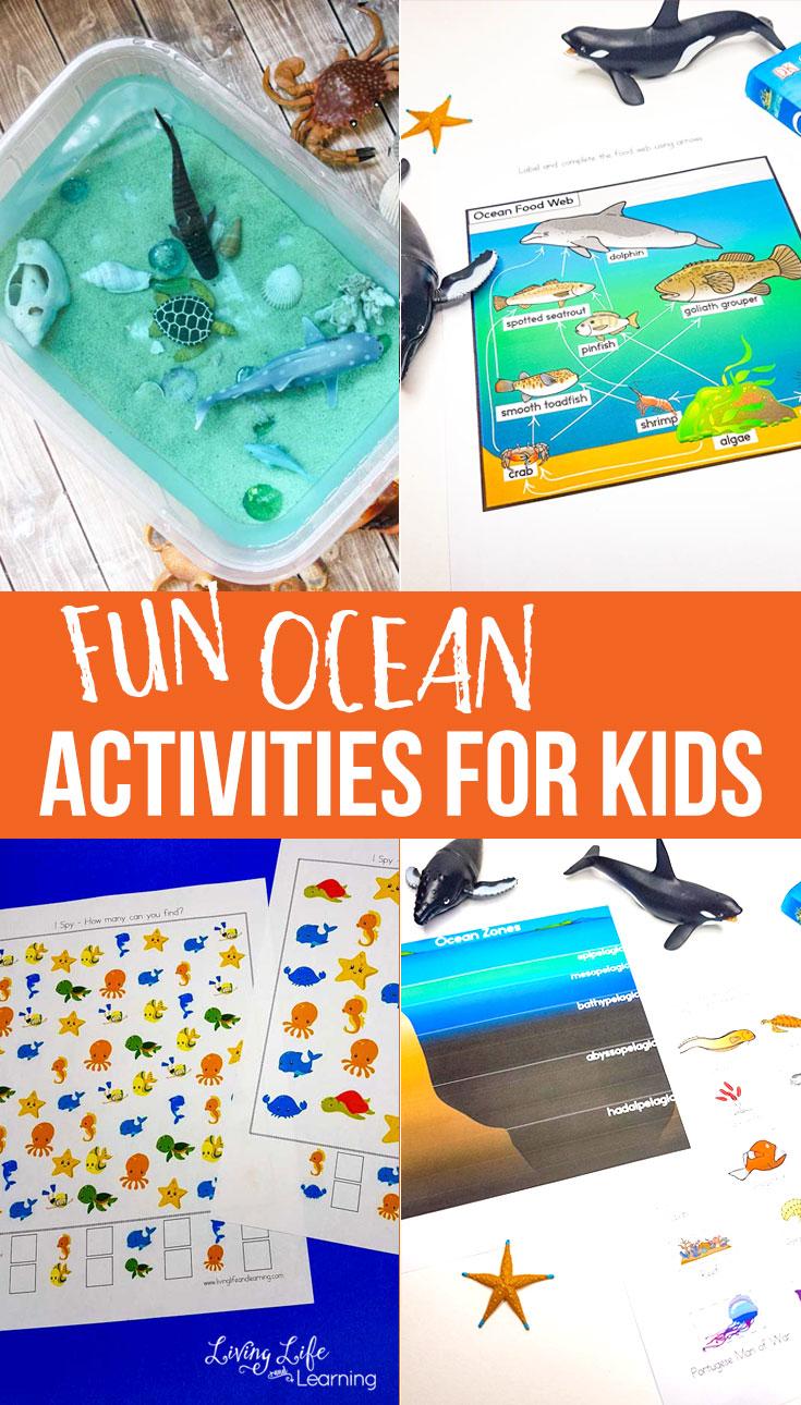 hight resolution of Fun Ocean Activities for Kids