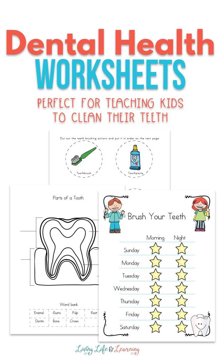 medium resolution of Dental Health Worksheets for Kids