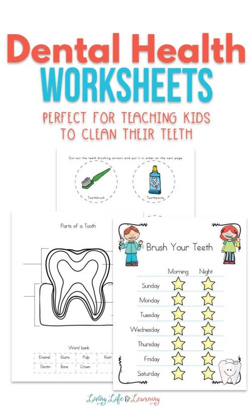 small resolution of Dental Health Worksheets for Kids